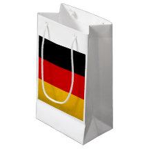 Bandera nacional alemana bolsa de regalo pequeña