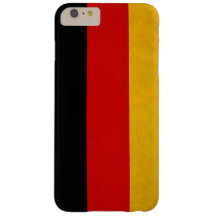 Bandera nacional alemana funda de iPhone 6 plus barely there