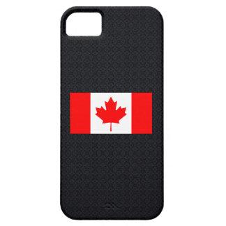 Bandera nacional canadiense de Canada-01.png Funda Para iPhone SE/5/5s