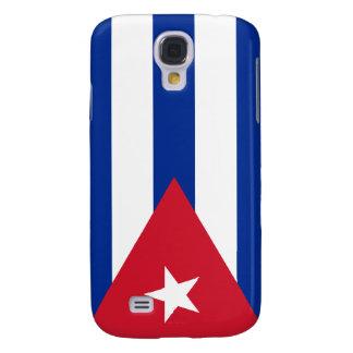 Bandera nacional cubana de Cuba Funda Para Galaxy S4