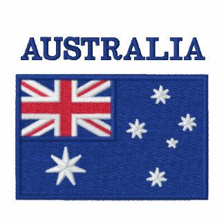 Bandera nacional de Australia Camiseta Polo Bordada