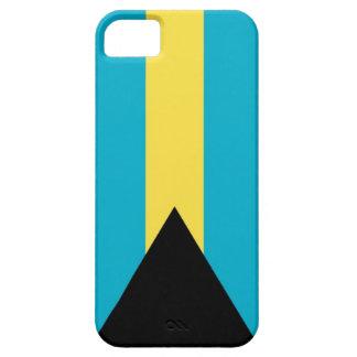 Bandera nacional de Bahamas iPhone 5 Funda