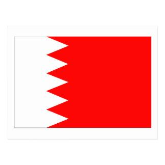Bandera nacional de Bahrein Tarjetas Postales