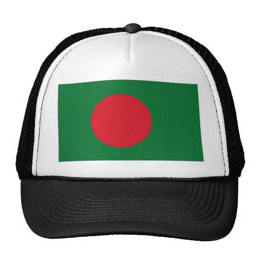 Bandera nacional de Bangladesh Gorras