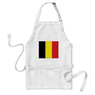 Bandera nacional de Bélgica Delantales