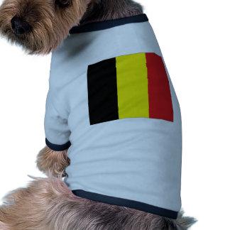 Bandera nacional de Bélgica Ropa Macota