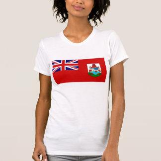 Bandera nacional de Bermudas Camisetas