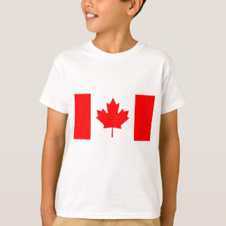 Bandera nacional de Canadá - Drapeau du Canadá Playera