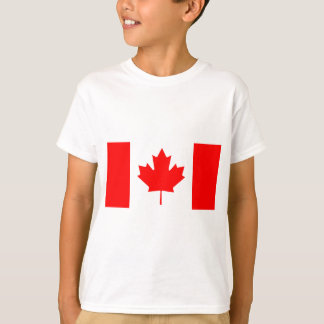Bandera nacional de Canadá - Drapeau du Canadá Remera