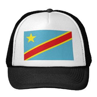 Bandera nacional de Congo Kinshasa Gorras De Camionero