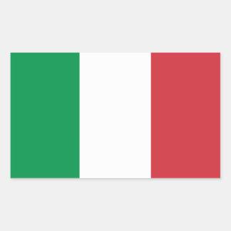 Bandera nacional de CUATRO Italia Rectangular Altavoz