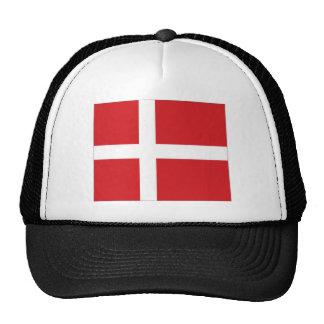 Bandera nacional de Dinamarca Gorro