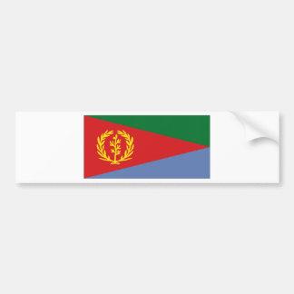 Bandera nacional de Eritrea Pegatina Para Auto