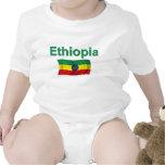 Bandera nacional de Etiopía (w/inscription) Camiseta