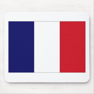 Bandera nacional de Francia Alfombrillas De Raton