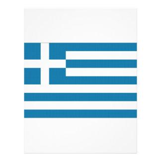 """Bandera nacional de Grecia Folleto 8.5"""" X 11"""""""