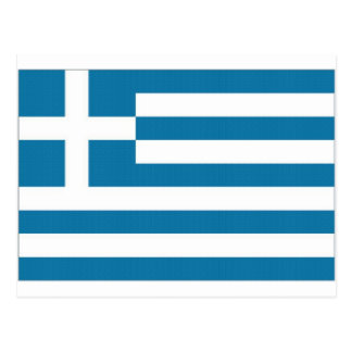 Bandera nacional de Grecia Postal