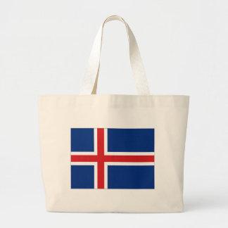 Bandera nacional de Islandia Bolsa De Mano