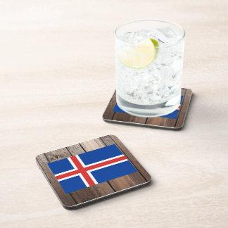 Bandera nacional de Islandia Posavasos