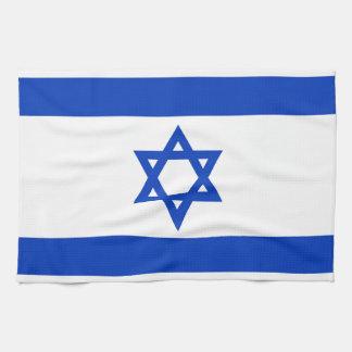 Bandera nacional de Israel - versión auténtica Toallas