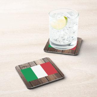 Bandera nacional de Italia Posavasos De Bebidas