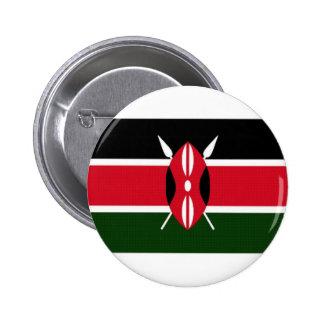 Bandera nacional de Kenia Pin Redondo De 2 Pulgadas