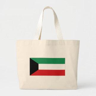 Bandera nacional de Kuwait Bolsas Lienzo