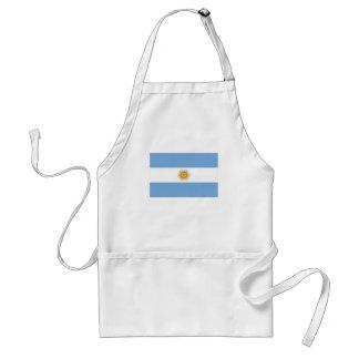 Bandera nacional de la Argentina Delantal