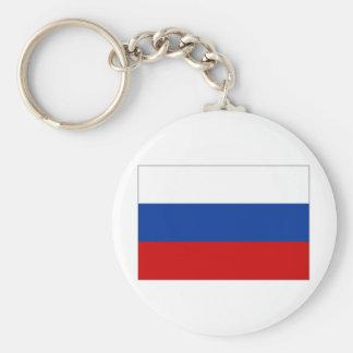 Bandera nacional de la Federación Rusa Llavero Redondo Tipo Pin