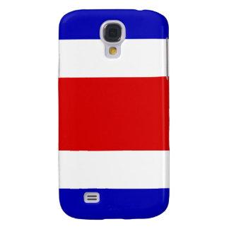 Bandera nacional de la nación de Costa Rica Funda Para Samsung Galaxy S4