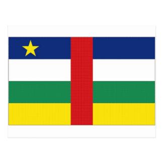 Bandera nacional de la República Centroafricana Tarjetas Postales