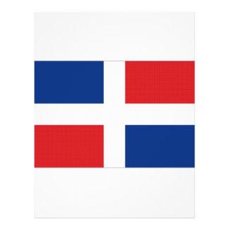 """Bandera nacional de la República Dominicana Folleto 8.5"""" X 11"""""""