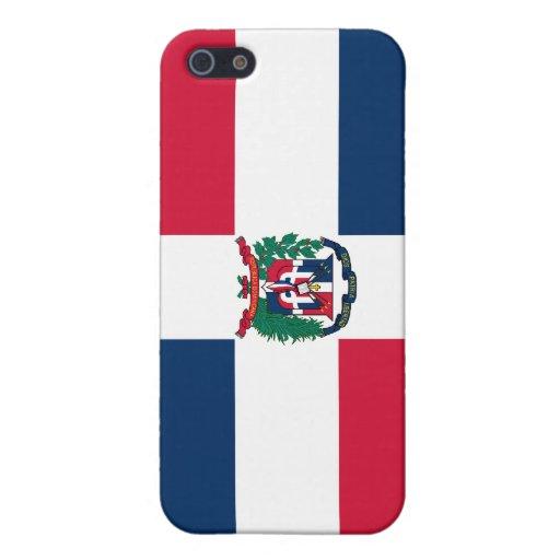 Bandera nacional de la República Dominicana iPhone 5 Coberturas