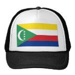 Bandera nacional de los Comoro Gorros Bordados