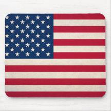 Bandera nacional de los E.E.U.U. Alfombrilla De Ratón