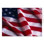 Bandera nacional de los Estados Unidos de América Felicitaciones