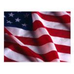 Bandera nacional de los Estados Unidos de América Postal