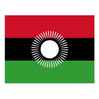 Bandera nacional de Malawi Postal