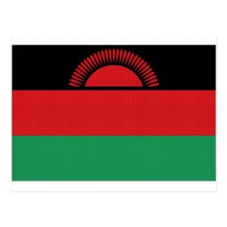 Bandera nacional de Malawi Tarjeta Postal