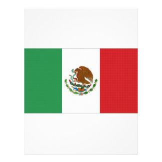 """Bandera nacional de México Folleto 8.5"""" X 11"""""""