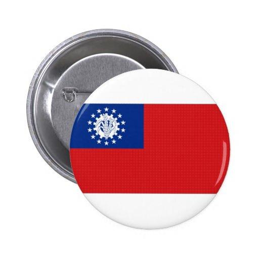 Bandera nacional de Myanmar Pins