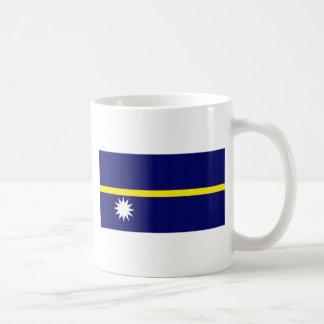 Bandera nacional de Nauru Taza