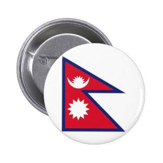 Bandera nacional de Nepal Pin