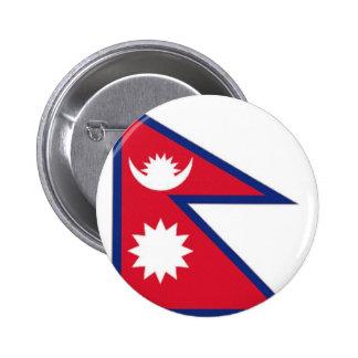Bandera nacional de Nepal Pins