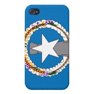 Bandera nacional de Northern Mariana Islands iPhone 4/4S Fundas