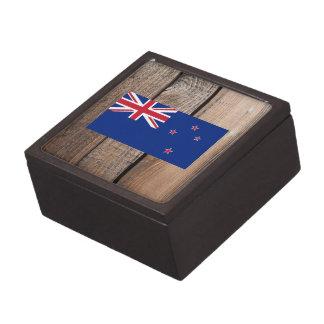 Bandera nacional de Nueva Zelanda Cajas De Recuerdo De Calidad