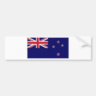 Bandera nacional de Nueva Zelanda Pegatina De Parachoque