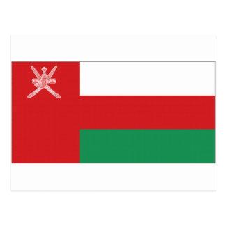 Bandera nacional de Omán Tarjetas Postales