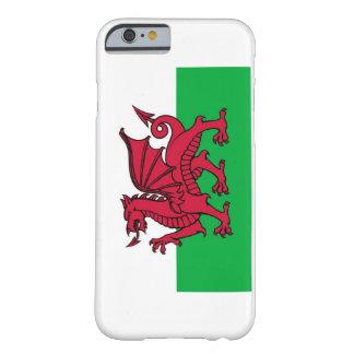 Bandera nacional de País de Gales Funda Para iPhone 6 Barely There