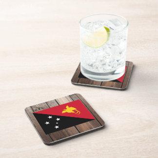 Bandera nacional de Papúa Nueva Guinea Posavasos De Bebidas